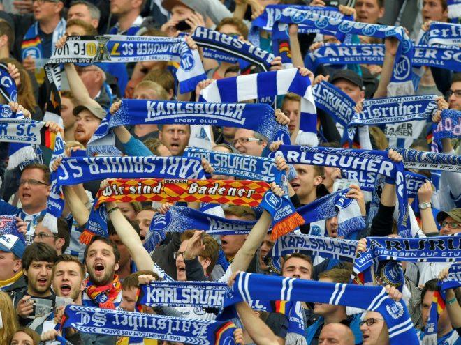 Geldstrafe für Karlsruher SC wegen Fan-Fehlverhalten