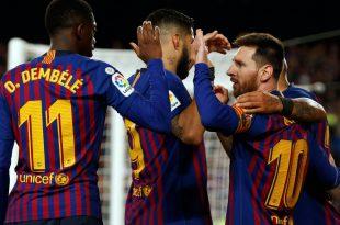 Lionel Messi schoss den FC Barcelona zur Meisterschaft