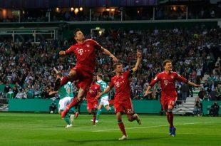Bayern gewann 3:2 im Weserstadion