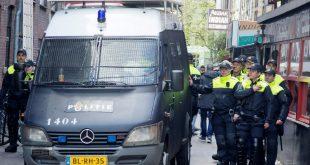 Die Polizei in Amsterdam nahm 120 Juve-Anhänger fest