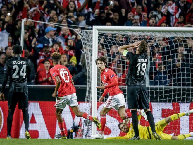Eintracht Frankfurt verlor in Lissabon mit 2:4