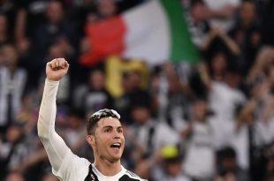Ronaldo feiert seinen ersten italienischen Meistertitel