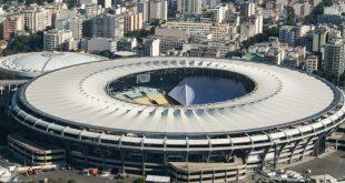 Flutlichtausfall im Maracana-Stadion