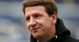 Wurde von Gäste Coach Barton attackiert: Daniel Stendel
