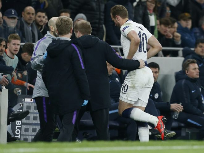 Kane humpelte gegen Manchester City vom Platz