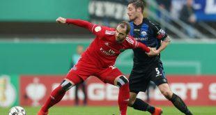 Lasogga (l.) war der Matchwinner beim Hamburger SV