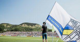 Die Jenaer Fans fielen gegen Cottbus negativ auf