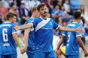 Kaute nach Sieg gegen den HSV auf Eckfahne rum: Erdmann