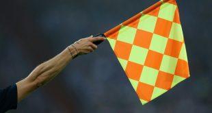 Schiedsrichter-Assistent Jorge Cruz sorgte für Lacher