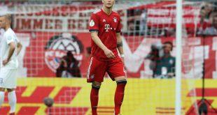 Niklas Süle wurde für ein Pokalspiel gesperrt