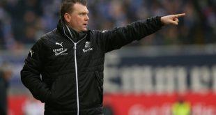 Sandhausens Trainer Uwe Koschinat sieht Sieg gegen Kiel