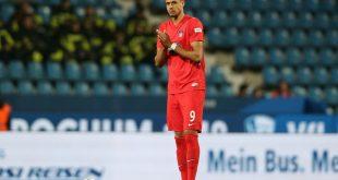 Robert Glatzel flog im letzten Saisonspiel vom Platz