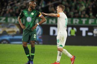 Guilavogui (l.) hat in Wolfsburg noch Vertrag bis 2020
