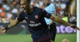 Matchwinner: Aubameyang schießt Arsenal ins EL-Finale