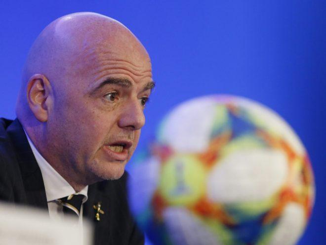Muss wohl auf die Mega-WM 2022 verzichten: Infantino