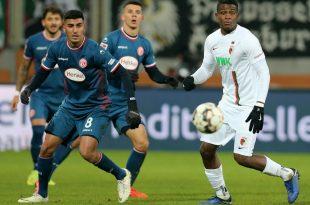 Bleibt noch eine Saison in Düsseldorf: Aymen Barkok (l.)