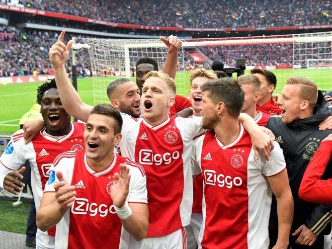 Niederlande: Ajax Amsterdam ist Meister
