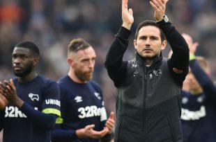 Derby County und Frank Lampard stehen im Play-off-Finale