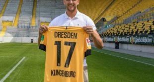 Dynamo Dresden präsentiert Neuzugang Rene Klingenburg