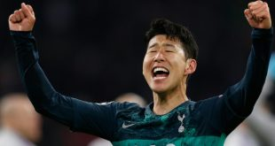 Heung-min Son glaubt an einen Sieg von Tottenham