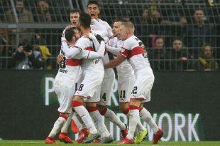 Der VfB Stuttgart sichert sich den Relegationsplatz