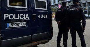 Die Madrider Polizei setzt auf hohe Sicherheitsmaßnahmen