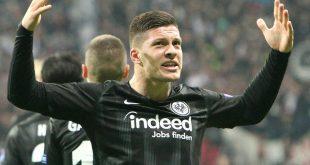 Das Trikot von Luka Jovic brachte 2625 Euro ein