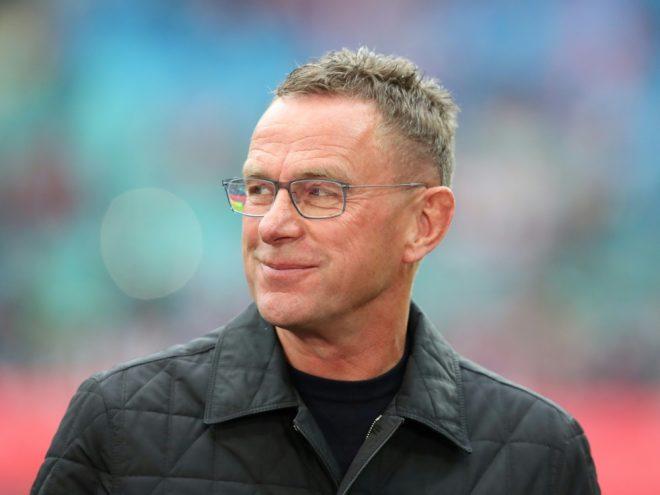 War mit dem Ergebnis zufrieden: Ralf Rangnick