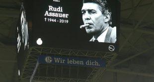 Schalke plant einen Rudi-Assauer-Platz an der Arena