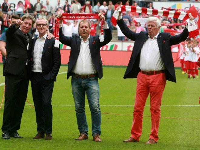 Schumacher und Ritterbach (2. v. r.) kandidieren nicht