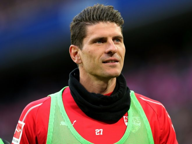 Will dem VfB trotz Abstieg treu bleiben: Mario Gomez