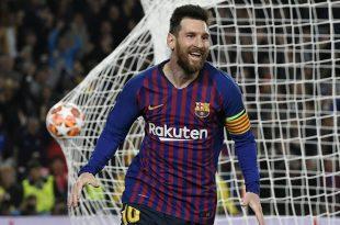 Messi erzielte gegen Liverpool einen Doppelpack