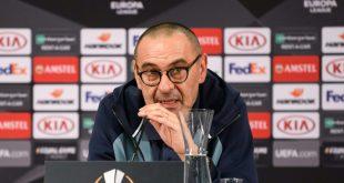 Maurizio Sarri warnt sein Team vor Eintracht Frankfurt