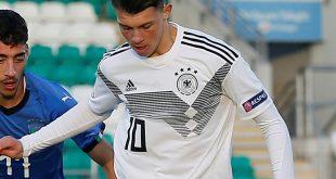 Samardzic erzielt das 2:1 für die DFB-Junioren