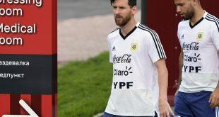 Wurden nominiert: Messi (l.) und Agüero (r.)