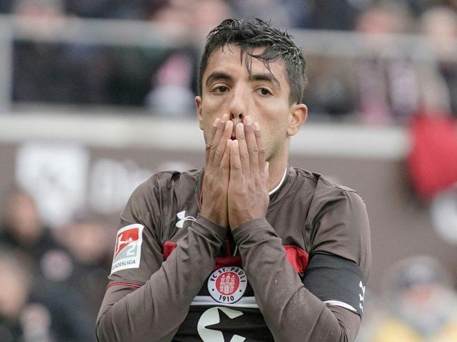 Sami Allagui muss den FC St. Pauli verlassen