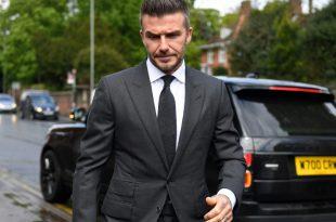 Beckham muss sechs Monate ohne Führerschein asukommen