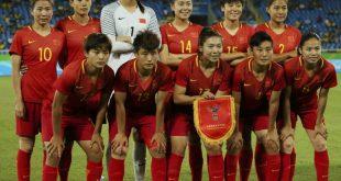 Besondere Schulstunde für Chinas Fußball-Frauen