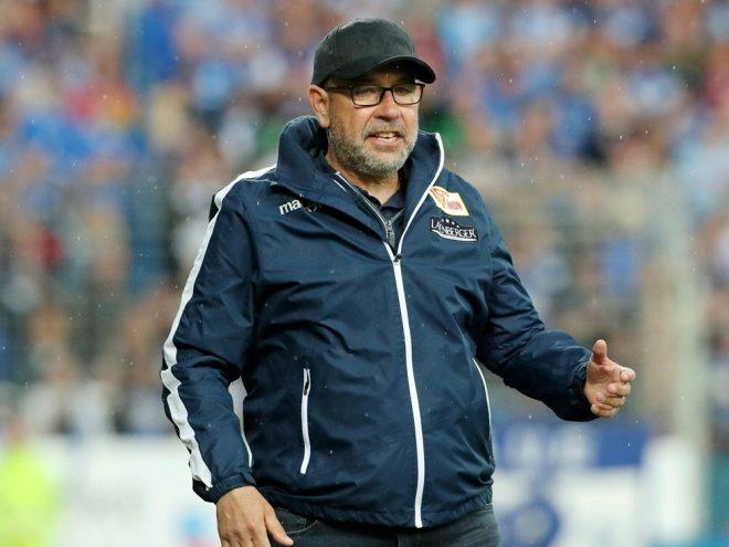 Urs Fischer will das Rückspiel gegen den VfB gewinnen