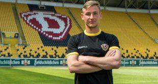 Kevin Broll unterschreibt in Dresden bis 2022