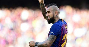 Vidal erzielte bei Barcelonas Sieg den Führungstreffer