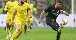 Remis im Hinspiel zwischen Frankfurt und Chelsea