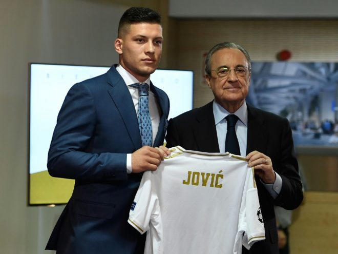 Jovic wurde offiziell bei Real Madrid vorgestellt