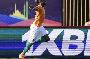 Jonathan Kodjia erzielte das Siegtor gegen Südafrika