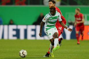 Atanga war letzte Saison an Greuther Fürth ausgeliehen