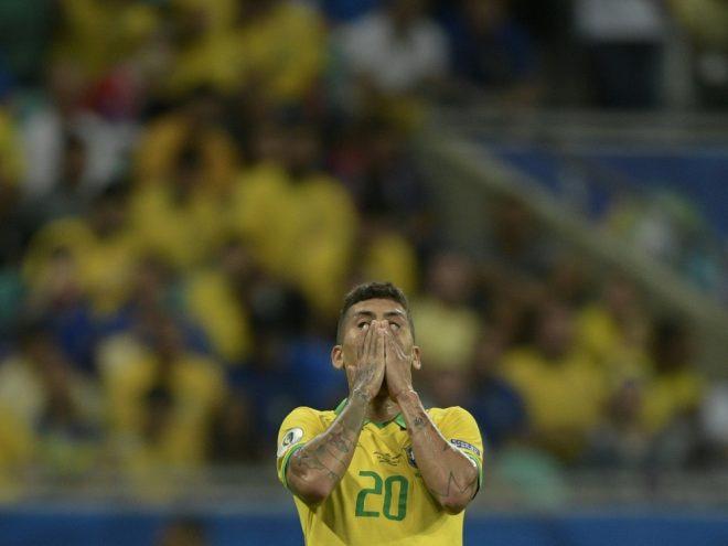Enttäuscht: Roberto Firmino