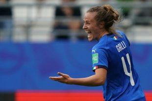 Aurora Galli erzielte zwei Treffer gegen Jamaika