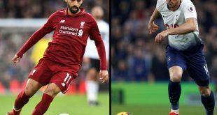 Salah (l.) und Kane stehen sich gegenüber