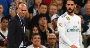 Einbruch bei Zinedine Zidane und Isco (v.l.)
