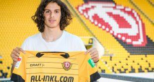 Matthäus Taferner unterschreibt bei Dynamo Dresden